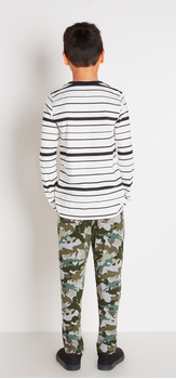 Camo Striped Outfit