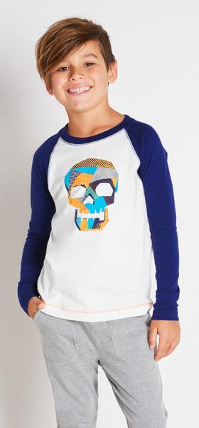 Skull Raglan Outfit