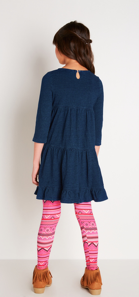 The Indigo Dress Outfit
