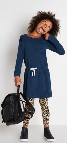 Indigo & Cheetah Outfit