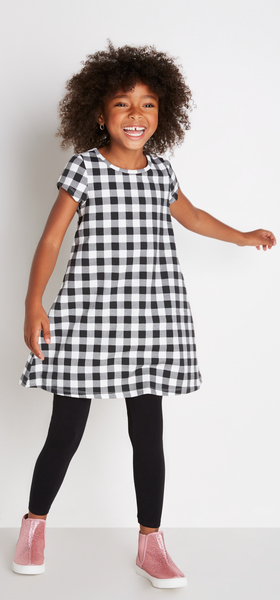 Gingham A-Line Outfit