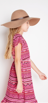 Pink Boho Maxi Outfit