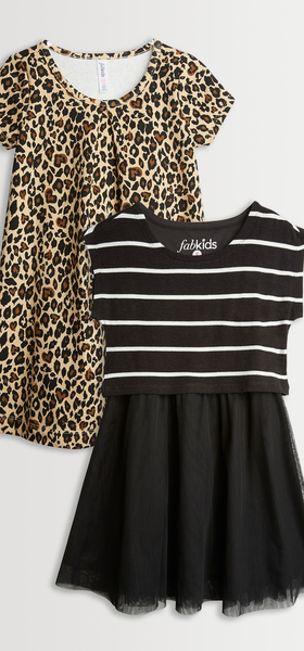 Cheetah & Stripes Dress Pack