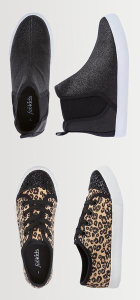Glitter & Leopard Shoe Pack