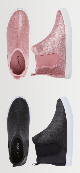 Glitter High Top Shoe Pack