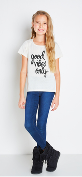Good Vibes Denim Outfit