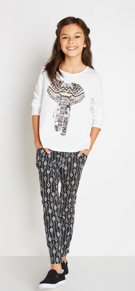 Tribal Elephant Jogger Outfit