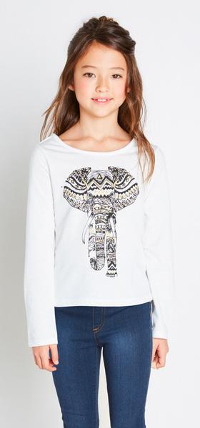Elephant Tulip Tee Denim Outfit