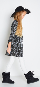 The Bell Sleeve Babydoll Outfit