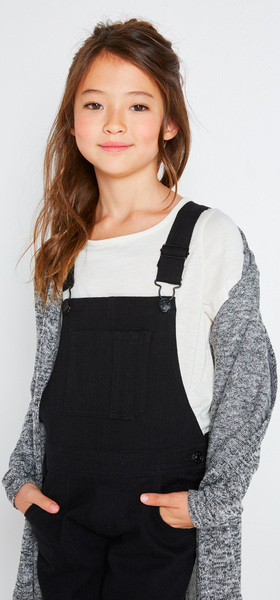 The Black Denim Overall Outfit