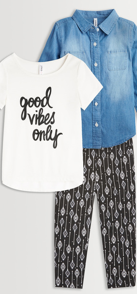 Good Vibes Chambray Box