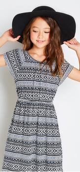 Boho Tribal Maxi Dress Outfit