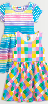 Bright Stripe & Check Dress Pack