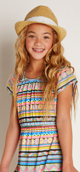 Hat Boho Girl Outfit