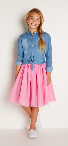 Sweetheart Chambray Outfit