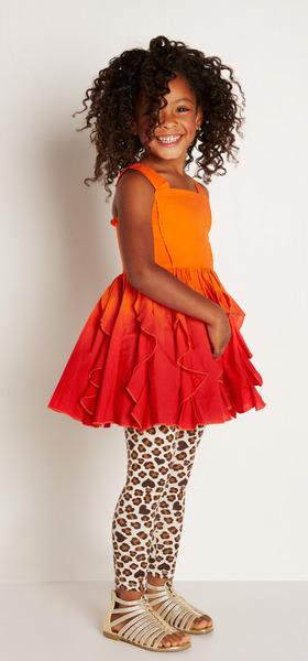 Cheetah Princess Outfit