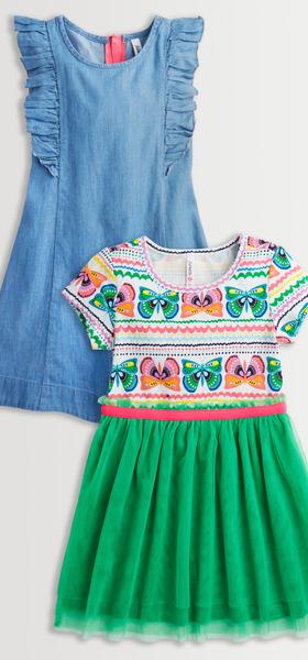 Butterfly Flutter Dress Pack