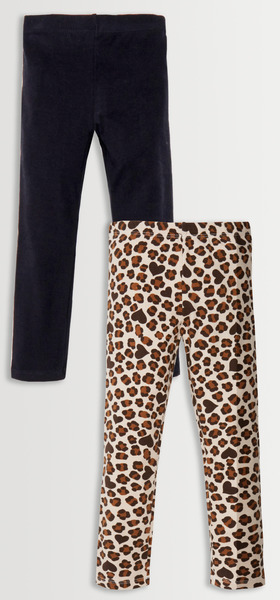 Solid & Print Legging Pack