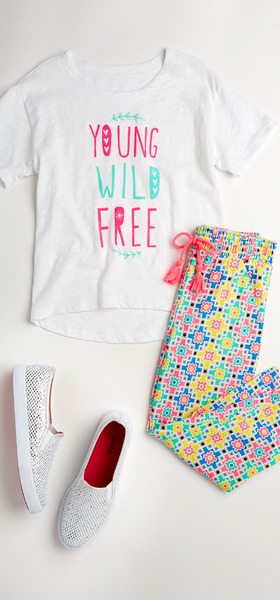 Wild & Free Outfit W/ Shoes