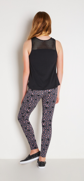 Mesh Leopard Outfit