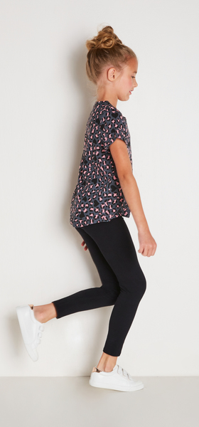 Leopard Tee Outfit