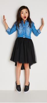 Chambray & Tutu Outfit