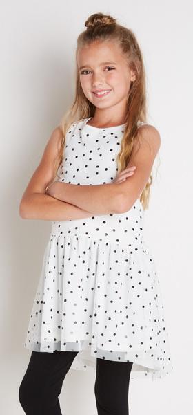 Black Dot Tutu Outfit