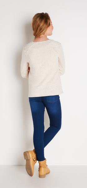 Lace & Denim Outfit