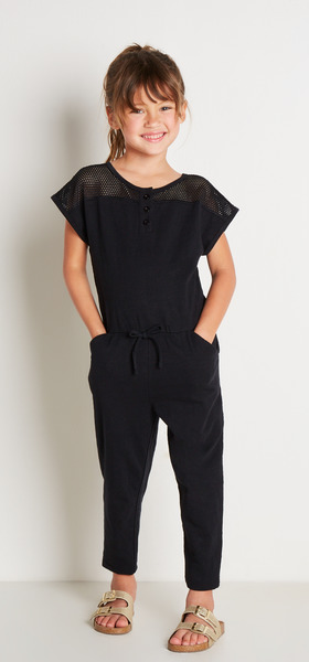Mesh Romper Outfit