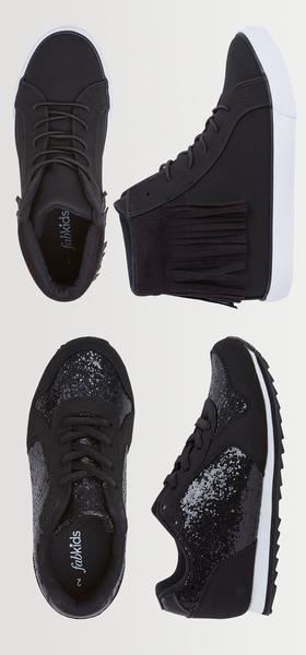 Fringe & Glitter Shoe Pack