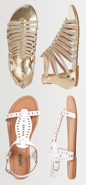 Gold Gladiator Shoe Pack