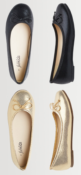 Fab Metallic Flat Shoe Pack