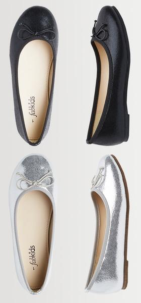 Fab Metallic Flat Shoe Pack