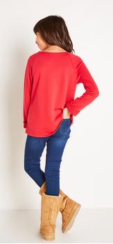 Eyelet Sweatshirt Outfit
