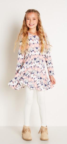 Chevron Popover Dress Outfit