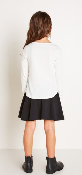 Cool Girl Skirt Outfit