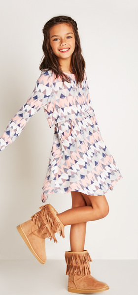 The Chevron Popover Dress Outfit