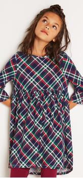 Plaid Hi-Low Dress Outfit