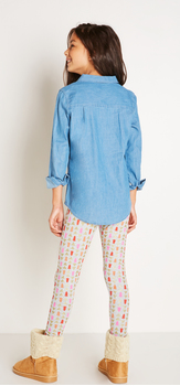 Chambray Glitter Outfit