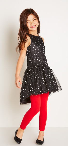 bff42da54e5 Silver Dot Tutu Dress Outfit - FabKids