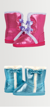Bow Fuzzy Shoe Pack