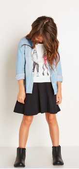 The Cool Girl Skirt Outfit