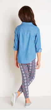 The Chambray Geo Print Outfit