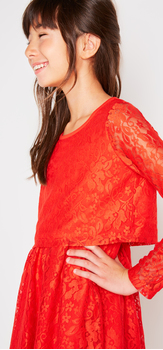 The Lace Popover Dress Outfit