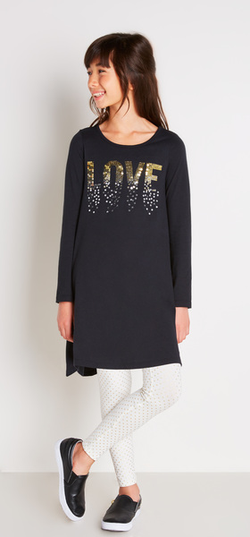 The Love Sequin Dress Outfit
