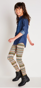 Chambray Tribal Outfit