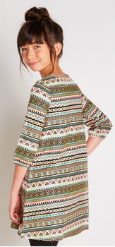 The Tribal A-Line Dress Outfit