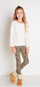 Eyelet + Cheetah Outfit
