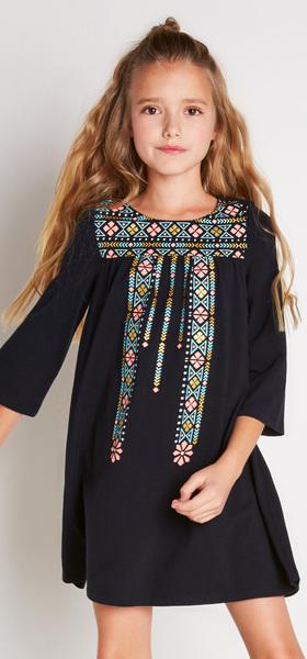 The Black Boho Dress Outfit