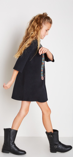 The Black Boho Dress Outfit